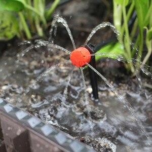 Image 4 - Microsistema de riego por goteo DIY, temporizador de riego automático, Kits de mangueras de jardín con gotero ajustable, 25m, envío rápido