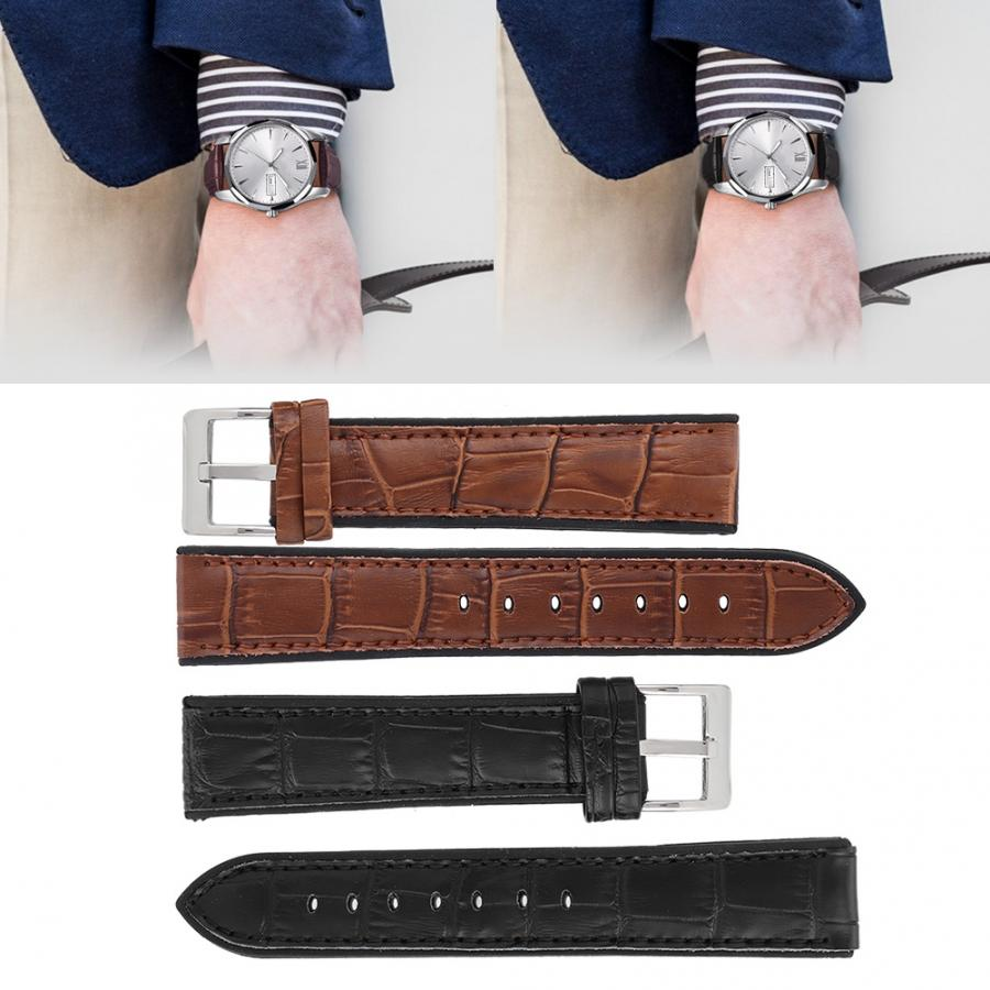 Permalink to Watches Accessory Universal Bamboo Grain Watchband Strap Replacement Watch Band Watch Accessory Genuine Leather Watch Strap