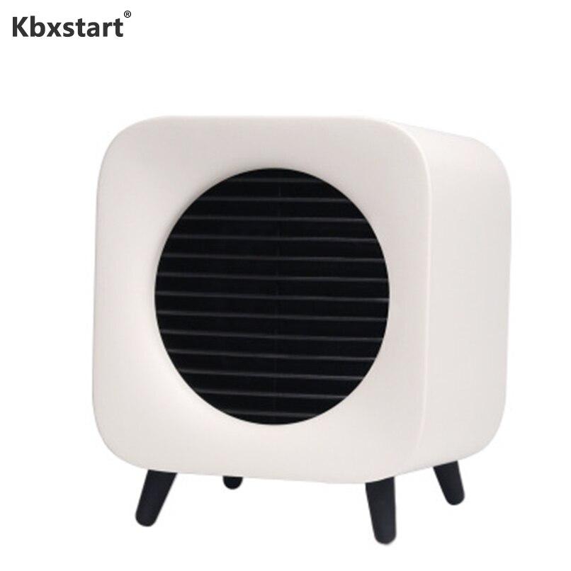 Kbxstart Smart chauffage bureau bureau Portable deux vitesses réglage plus chaud dortoir maison hiver chaud pied main 220V 800W