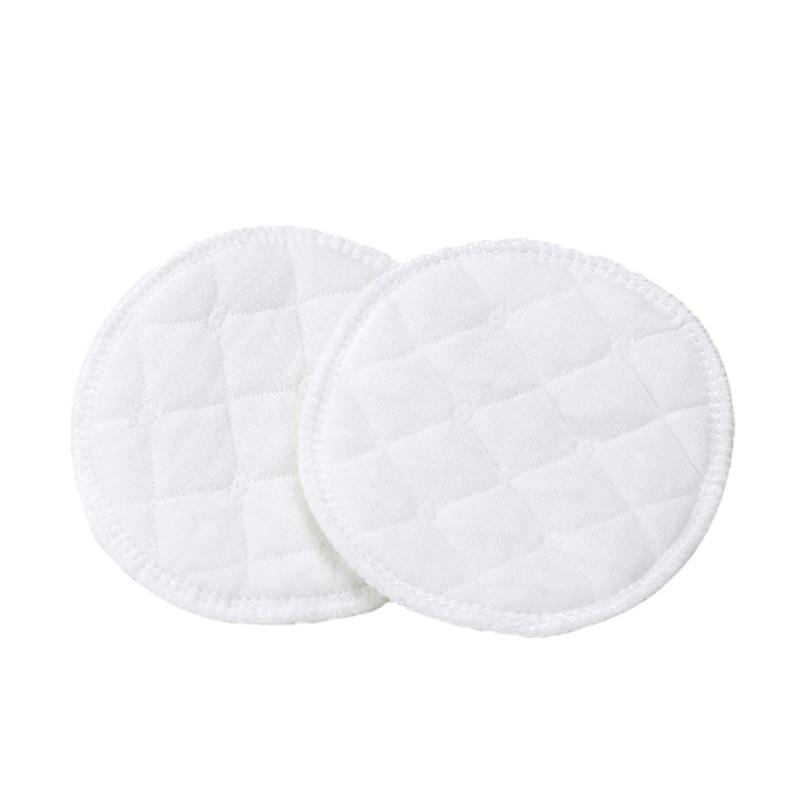 4 Pcs Pflege Pads Waschbar Wiederverwendbare Stillen Bh Anti-Galactorrhea Pads für Mütter Gebärende