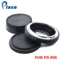 PIXCO Mount Adapter For Canon FD Lens TO Nikon Camera (optic) New Wholesale / Retail Free shipping free shipping original digital camera accessories for canon sx10 lens zoom lens