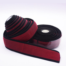 Gustavo handle tape Fixed Gear Road Bike  granular silica gel elastic Handle Bar Tapes Belt