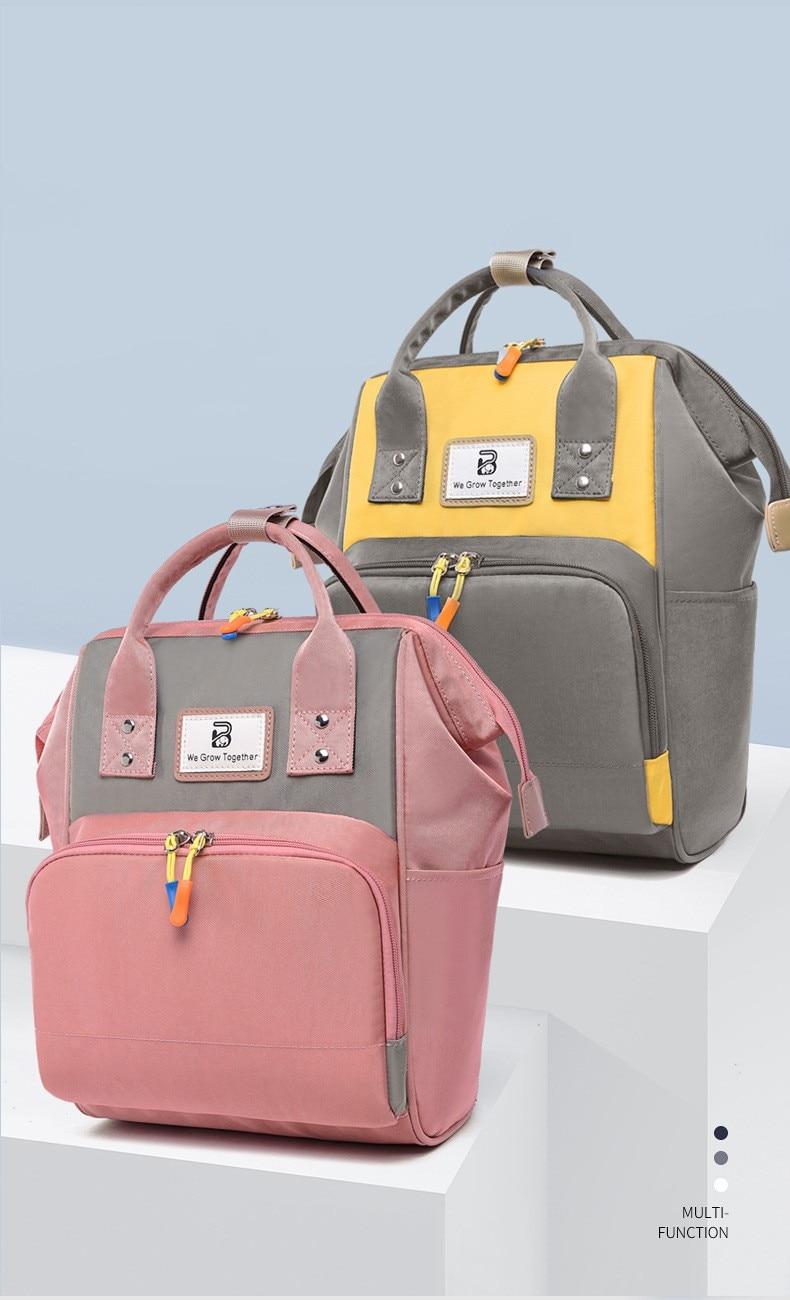 F Ashion Mummy Maternity Nappy Bag Brand Large Capacity Baby Bag Travel Backpack Designer Nursing Bag For Baby Care