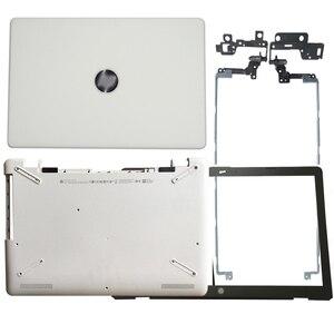Image 5 - מחשב נייד LCD כיסוי אחורי/קדמי לוח/LCD צירים/Palmrest/תחתון מקרה עבור HP 17 BS/AK/BR סדרת 933293 001 926527 001 933298 001