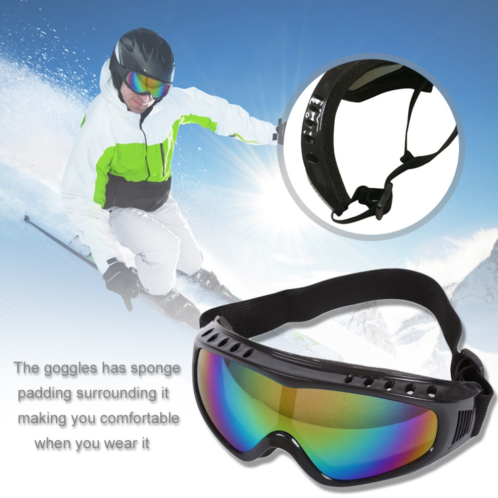 Super Cool Unisex Safety Goggles Motorcycle Cycling & Ski Eye Protection Glasses Tactical Paintball Wind Dust Airsoft Goggles