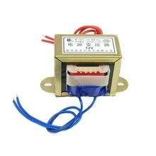 Transformador 50W güç ses dönüştürücü giriş 380V220V AC 6V9V12V15V18V24V30V36V110V tek çift AC trafo