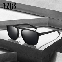 YZRS Brand Fashion Sunglasses Men Driving Polarized Sun Glasses Plastic UV Protection Shades Summer Eyewear