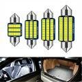 1 шт. Bombilla светодиодный Canbus Interior de в машине, luces para matrícula 3014 поверхностного монтажа, 31 мм, 36 мм, 39 мм, 41 мм, C5W, C10W, грех ошибка,