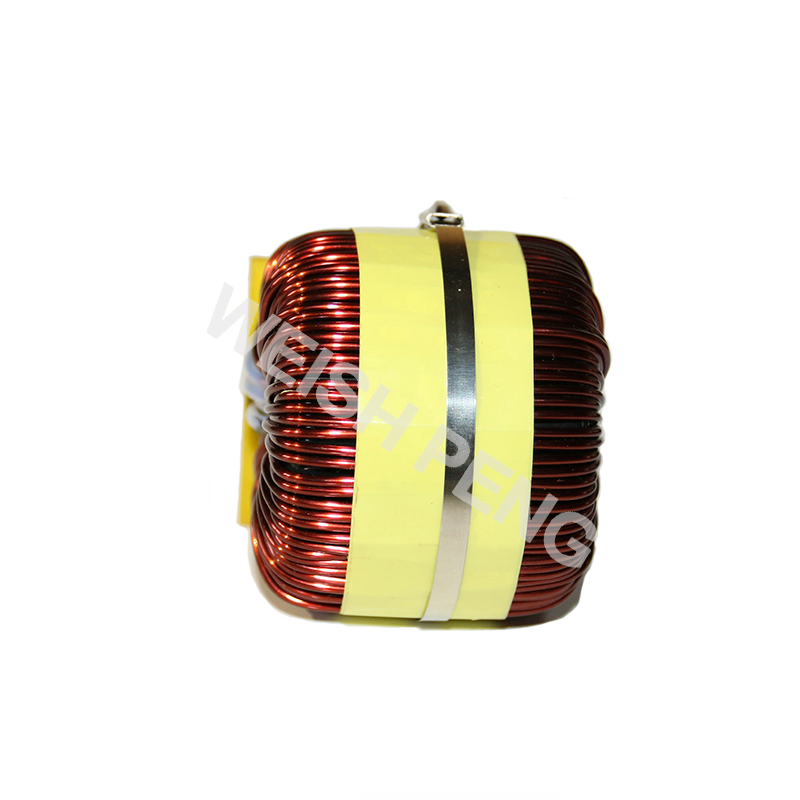 big power Ferrosilicon magnetic inductor 1MH 25A DC-DC  LCL Filter Inductor PFC ring Inductor