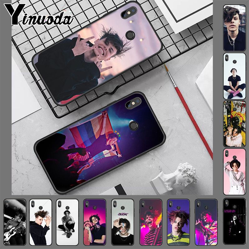 Yungblud Black TPU Soft silicone Phone Case Cover for redmi note8 pro note7 note5 note6pro 7 7A 5 5A 8 S2 Cellphones