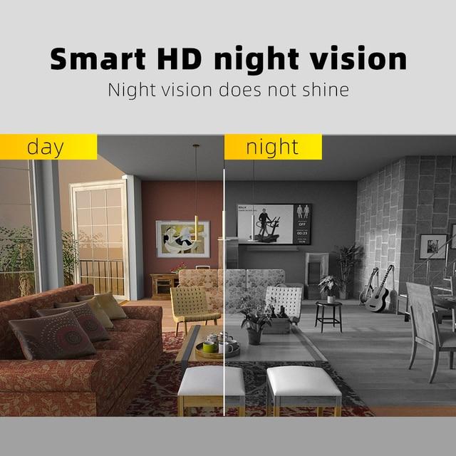 SDETER Mini Camera HD 720P Camera Camcorders Sport DV IR Night Vision Motion Detection Small Camcorder DVR Video Recorder  Cam 3
