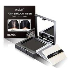 1PC Waterproof Hair Shadow Powder Hairline Modified Repair 5 Colors Hair Line Edge Control Powder Hair Concealer With Puff