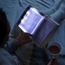 Плоский светодиодный светильник для чтения книг ночник портативный