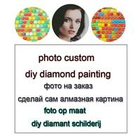 Mosaico de diamantes cuadrado personalizado, personalización de foto, bricolaje, punto de cruz, bordado de diamantes, regalo de boda, decoración del hogar