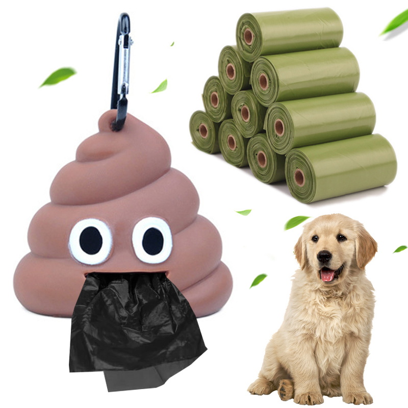 Storage Box 1Set Holder Waste Bag Dog Poop Bag High Quality Poop Bags Dispenser Pet Supplies Fits For Pet Funny Shape