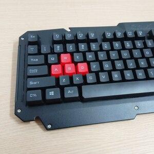 Image 3 - 2.4G kablosuz klavye fare seti bilgisayar masaüstü dizüstü rusça arapça tay İbranice İspanyolca fransızca İtalyanca kore alman klavye