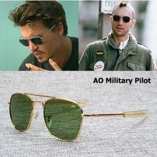 2020 New military fashion army to pilot 52mm sunglasses american brand lens opti