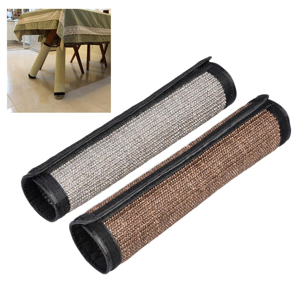 Cat Kitten Scratch Board Pad Furniture Protect Sisal Scratcher Mat Table Chair Sofa Legs Mat Scratching Post Claws Care Protect