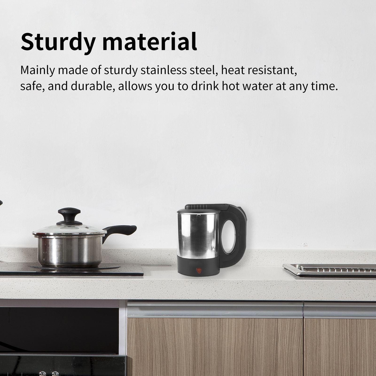 2021 new hot sale Electric Kettle Tea Coffee Thermo Pot Appliances Kitchen Smart Kettle Portable Travel Water Boiler Pot Sonifer