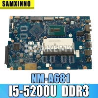 FOR Lenovo Ideapad 100 15IBD Laptop Motherboard 5B20K25458 SR23Y I5 5200U CG410/CG510 NM A681
