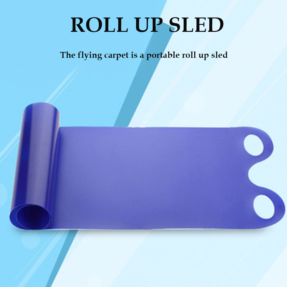 Portable Snowboards Snow Sled Rolling Snow Slider Skiing Board Toy For Children Adult #THY#