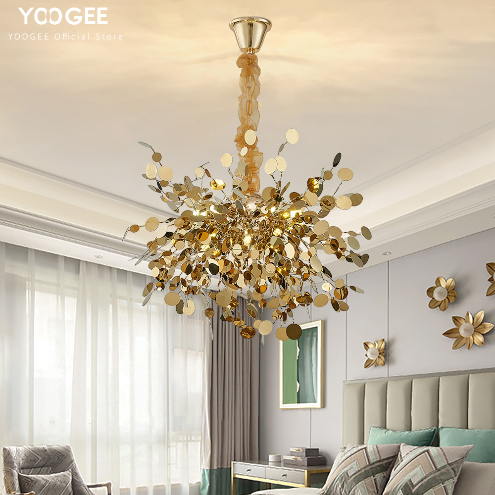 YOOGEE chandelier lighting Nordic ...