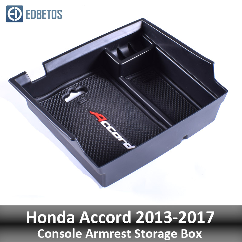 Image 5 - EDBETOS For Honda Accord 2013 2014 2015 2016 2017 Armrest Storage Box Console Organizer Glove Box Bin Stowing Tidying-in Stowing Tidying from Automobiles & Motorcycles