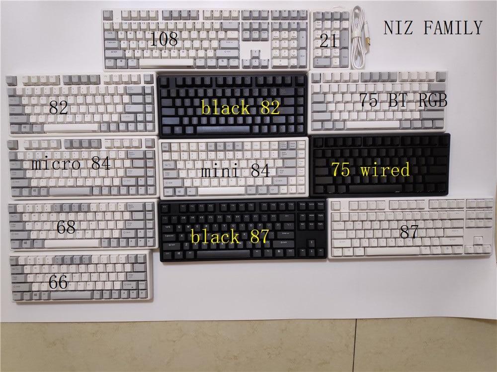 Niz 84 mini 68 ameixa teclado mecânico