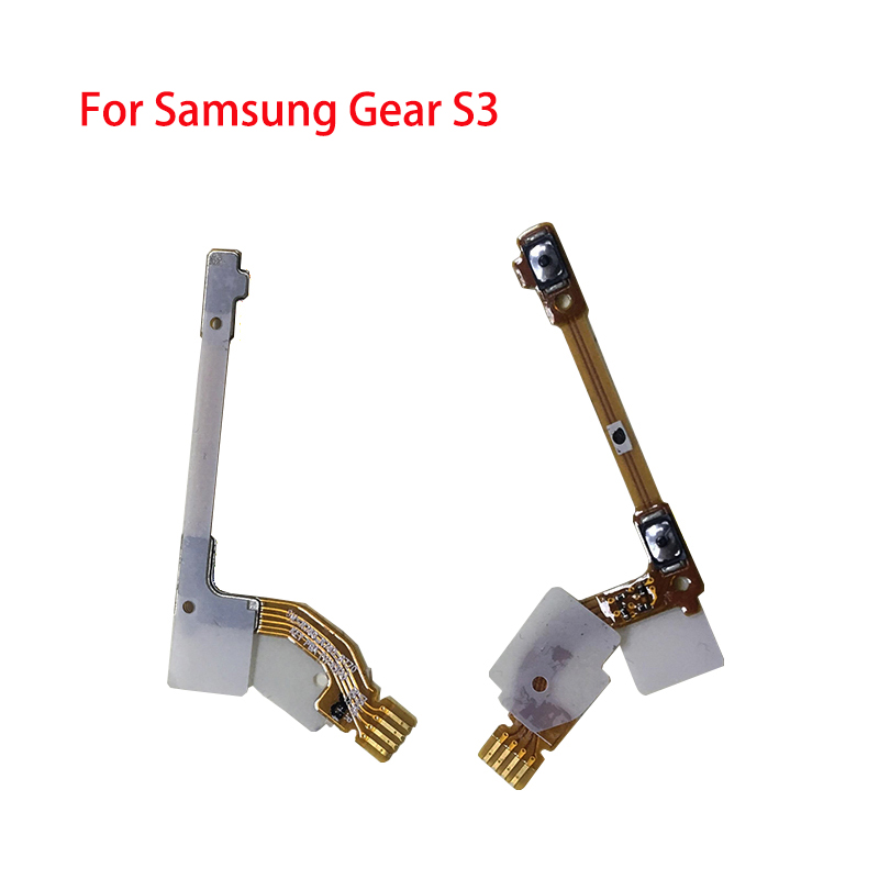 BINYEAE New Power Button Flex Cable For Samsung Gear S3 Power Ribbon Cable FPC Replacement Part