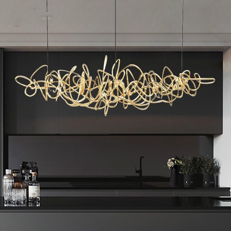 Post-modern light luxury LED ...