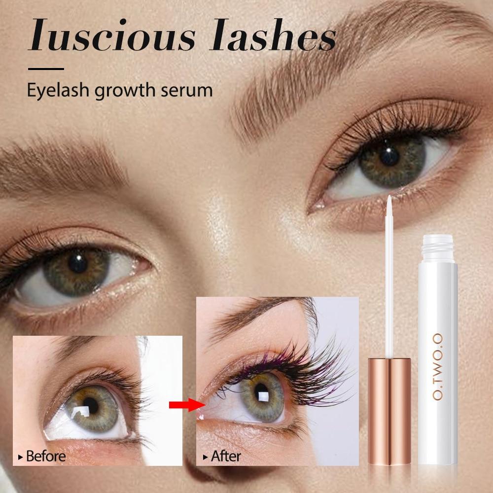 Eyelash Growth Treatment Moisturizing Eyelash Nourishing Essence Serum Enhancer Natural For Eyelashes Lengthening Thicker