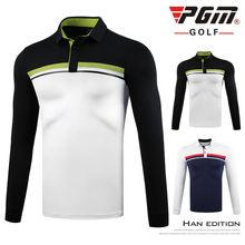 Новинка 2020 рубашка для гольфа pgm весна осень футболки с длинным