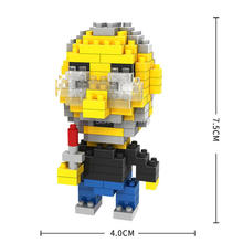 цена hot LegoINGlys creators Famous Apple Figures CEO mini Micro Diamond Building Blocks Steve Jobs Assemble model nano bricks toys онлайн в 2017 году