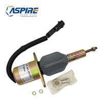 3928160 Diesel Fuel Shut Off Engine Stop Solenoid 12V Control Valves Wholesale High Pressure