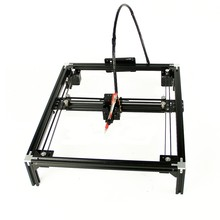 DIY LY guide rails drawing robot machine A4 A3 lettering corexy frame plotter drawbot pen support laser or not(China)