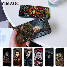 The Curse Of Michael Myers Horror Movie Silicone Case for iPhone 5 5S 6 6S Plus 7 8 11 Pro X XS Max XR ralph macchio michael mike marts x men the movie 1tru a