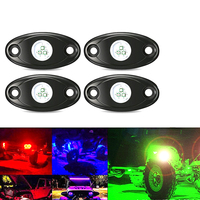 Decoration Universal Heat Dissipation Car LED Lamp Atmosphere Light Shock Resistant RGB Bluetooth Control Chassis Interior