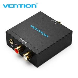Vention цифро-аналоговый аудио конвертер DAC цифровой SPDIF оптический в аналоговый L/R RCA конвертер для PS3 HD DVD PS4 ТВ домашний новый