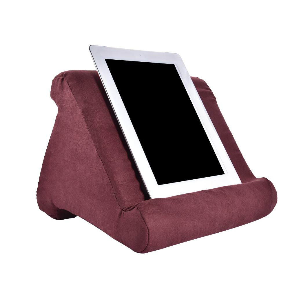 For IPad Tablet Stand Pillow Holder Phone Pillow Lap Stand Multi-Angle Soft Pillow Pad Lap Stand Smartphone For Iphone Holder