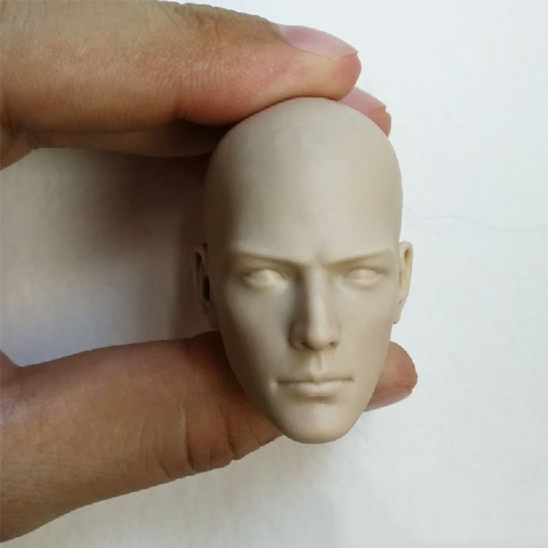 """1//6 Scale Head Sculpt Little Monk Head Model Lovely Child For 12/"""" figure body"""