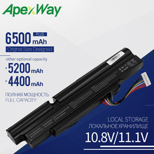 Apexway 6 Cells Laptop Battery For Acer Aspire TimelineX 4830TG 5830T 3830TG 4830T 5830TG 3830T 3INR18/65-2 AS11A3E AS11A5E