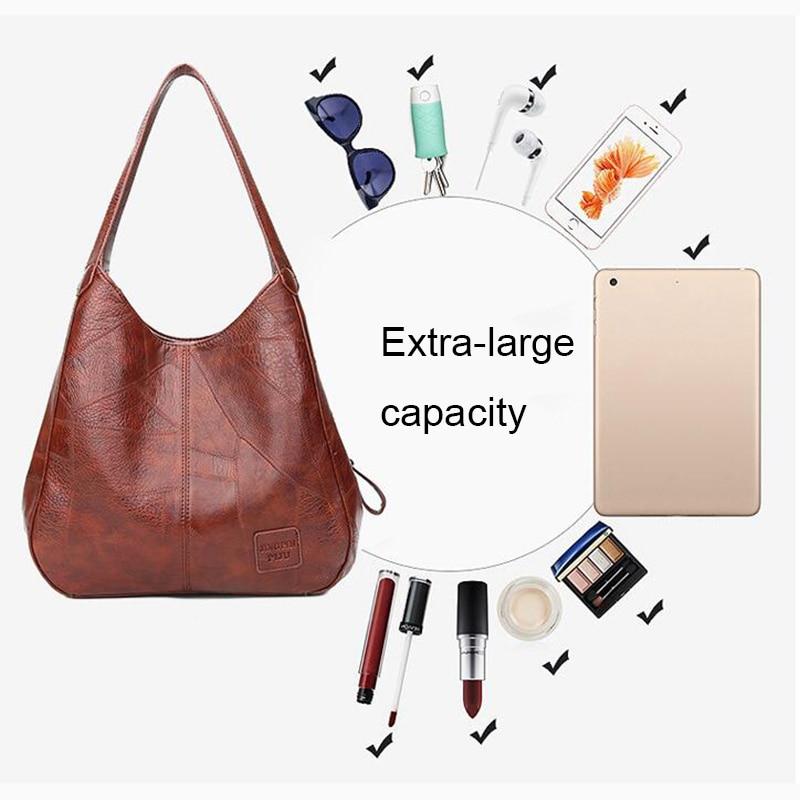 SMOOZA Vintage Womens Hand bags Designers Luxury Handbags Women Shoulder Bags Female Top-handle Bags Fashion Brand Handbags 5