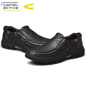 Image 5 - גמל פעיל חדש אמיתי עור גברים של נעלי אופנה חדשה סט רגל רך עור פרה קל משקל לנשימה נעליים יומיומיות גברים לופרס