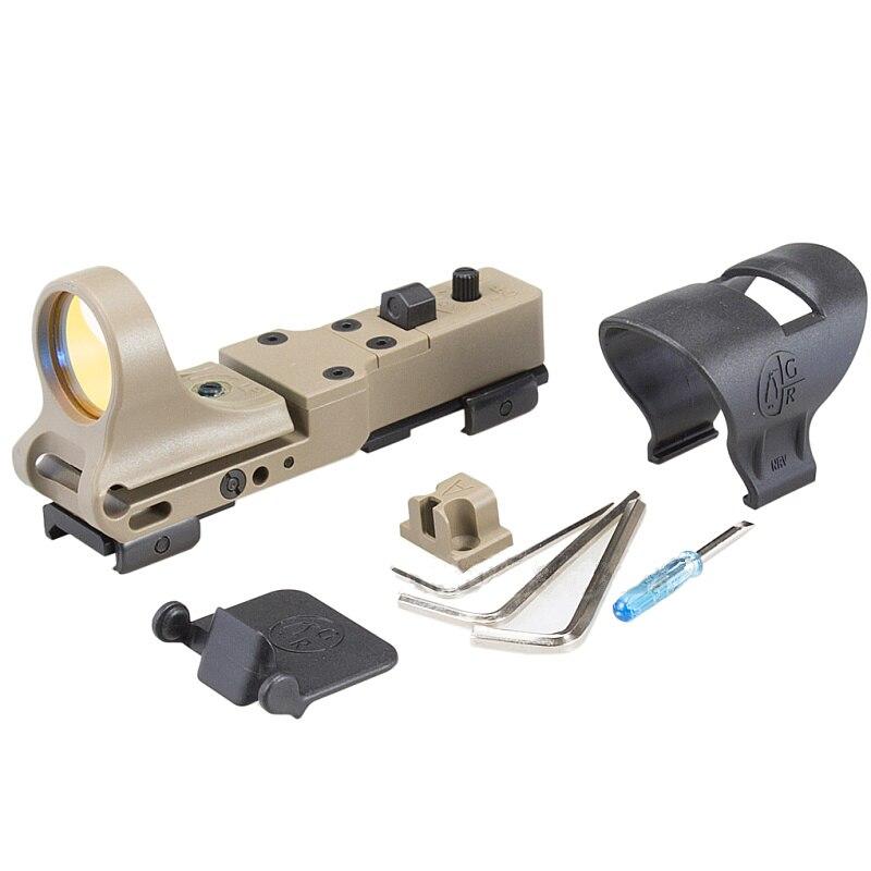 Tactical SeeMore Railway Reflex Red Dot Sight Rifle Scope Air Gun Riflescope Airsoft Glock Pistol Gun Optics Hunting Scopes