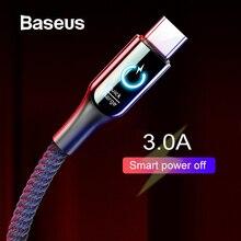 Huawei type-C кабель для передачи данных usb type C 3а провод для быстрого заряда Смарт дышащее освещение для samsung huawei type-C кабель для передачи данных