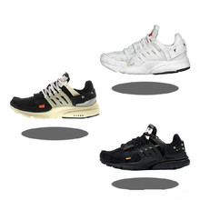 2020 new authentic presto wo 2.0 black and white mixed casual shoes men's women's couples learning sneakers running