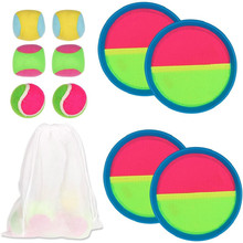 JULY'S SONG Baby Toys Ball Toss & Catch Paddle Game Set with Disc Paddles for Party Outdoor Garden Yard Pool Beach