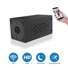 Оригинальная мини камера T1 с Wi Fi, 2000 мАч, 1080P, 2 МП, ночное видение, обнаружение движения, беспроводная IP камера с дистанционным управлением для помещений, для детей, домашних животных, для путешествий