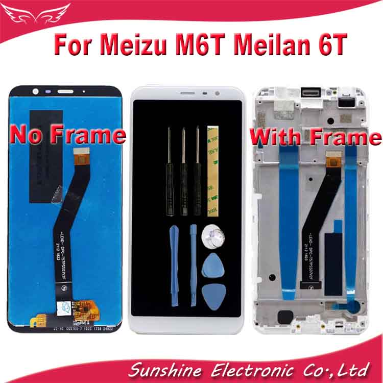 100% Tested LCD For Meizu M6T/ Meilan 6T M811Q M811H LCD Display Screen With Touch Sensor  Assembly