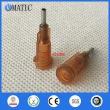 High Quality 100Pcs 15G 1/4 Inch Dispensing Glue Gun Needle Tip